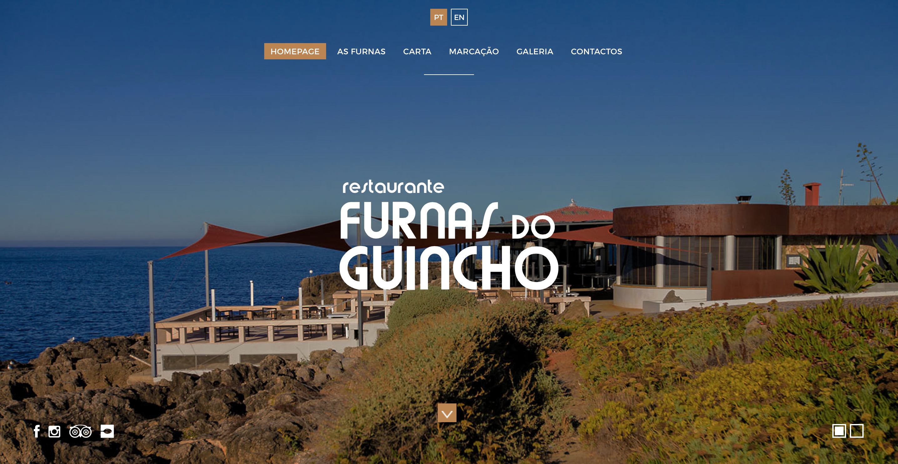 Furnas do Guincho | Website e marketing digital